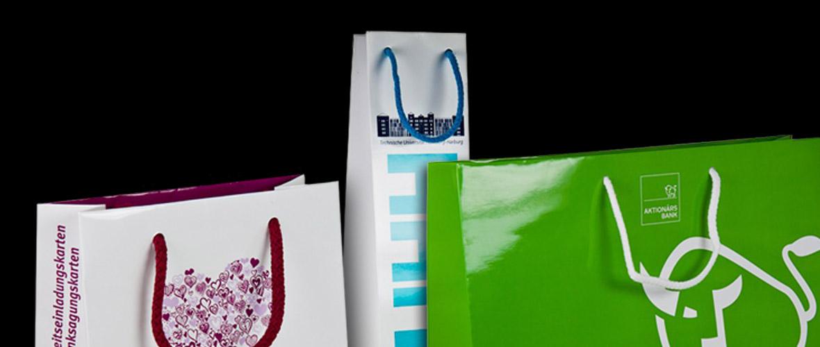 Papiertaschen bedrucken lassen - Einzigartige Werbetaschen und Papiertragetaschen für ihr Business